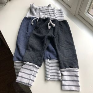 Childhoods Clothing two pack skinny sweats. GUC